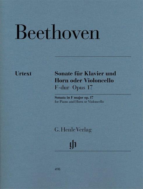 Sonate pour cor ou violoncelle en Fa majeur op. 17 - laflutedepan.com