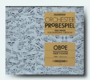 Orchester - Probespiel CD - Hautbois - laflutedepan.com