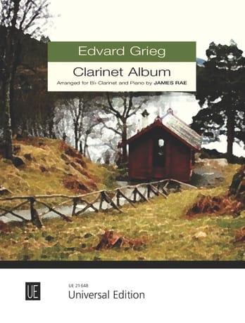 Grieg Clarinet Album - GRIEG - Partition - laflutedepan.com