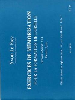 Exercices de mémorisation - 1er cycle Prev Yvon Le laflutedepan