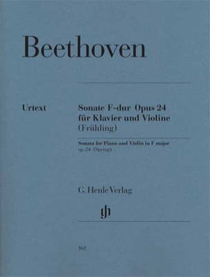 Sonate - Le Printemps BEETHOVEN Partition Violon - laflutedepan