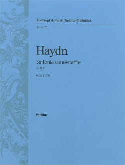 Symphonie Nr. 105 B-dur - Partitur - HAYDN - laflutedepan.com