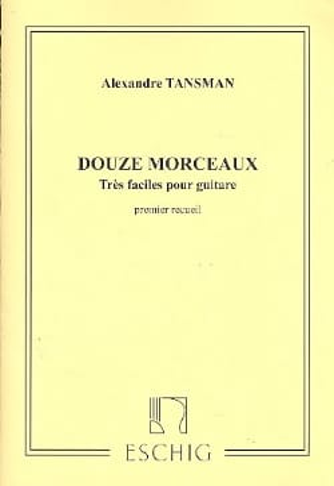 12 Morceaux très faciles - 1er recueil Alexandre Tansman laflutedepan