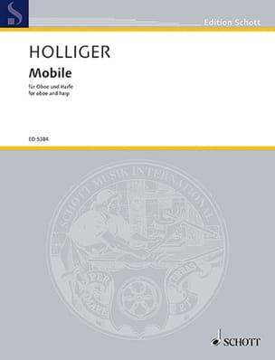 Mobile Heinz Holliger Partition Duos - laflutedepan