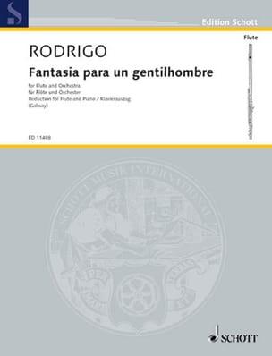 Fantasia para un Gentilhombre - Flöte Klavier RODRIGO laflutedepan