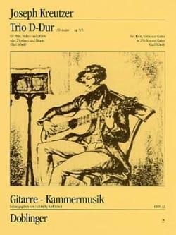 Trio D-Dur op. 9/3 -Flöte Violine Gitarre - laflutedepan.com
