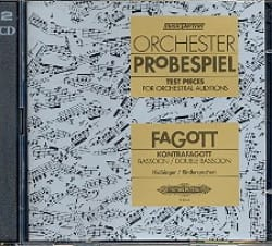 Orchester-Probespiel -Fagott / Kontrafagott laflutedepan