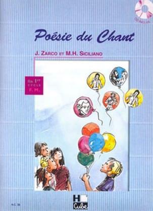 Poésie du Chant Zarco J. / Siciliano M.H. Partition laflutedepan
