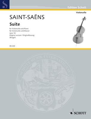 Suite Opus 16 - Version Originale SAINT-SAËNS Partition laflutedepan
