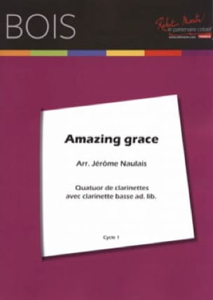 Amazing Grace - 4 Clarinettes - Traditionnel - laflutedepan.com