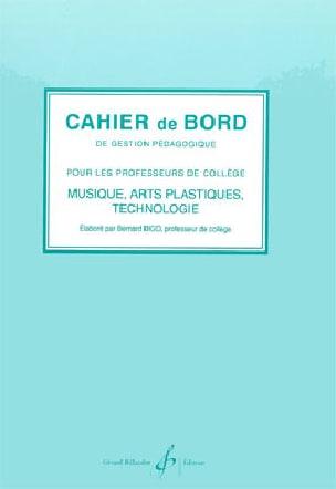 Cahier de bord Bernard Bigo Livre Solfèges - laflutedepan
