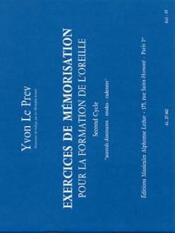 Exercices de mémorisation - 2ème cycle Prev Yvon Le laflutedepan