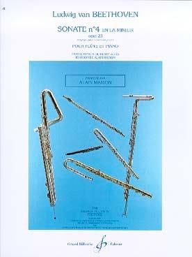 Sonate n° 4 en la mineur op. 23 BEETHOVEN Partition laflutedepan