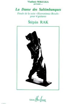 La danse des saltimbanques Stepan Rak Partition Guitare - laflutedepan
