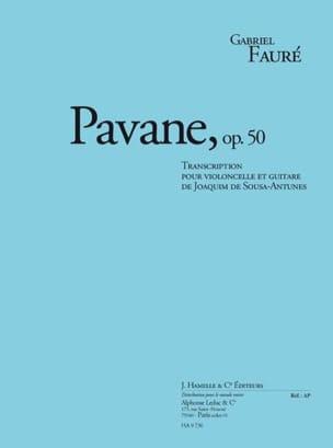 Pavane Op.50 - FAURÉ - Partition - 0 - laflutedepan.com