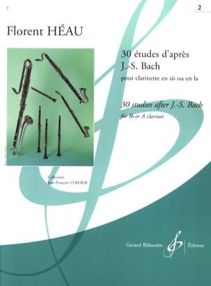 30 Etudes d'après J. S. Bach Volume 2 laflutedepan