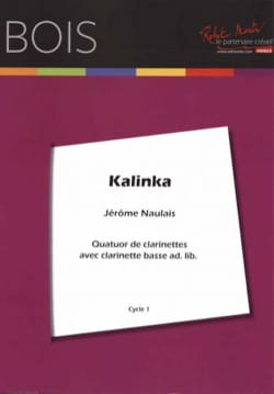 Kalinka - 4 Clarinettes Traditionnel Partition laflutedepan