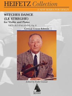 Witches Dance, op. 8 - Violon et piano - PAGANINI - laflutedepan.com