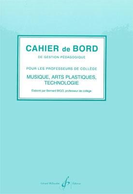 Cahier de bord - Bernard Bigo - Livre - Solfèges - laflutedepan.com