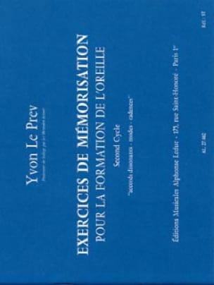 Exercices de mémorisation - 2ème cycle - laflutedepan.com