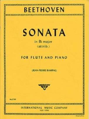 Sonata in Bb major -Flute piano - BEETHOVEN - laflutedepan.com