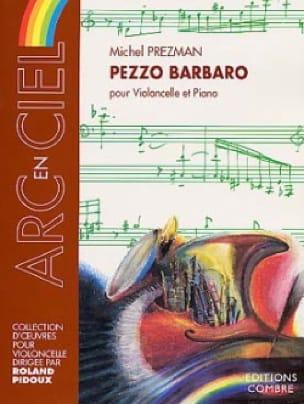 Pezzo Barbaro - Michel Prezman - Partition - laflutedepan.com