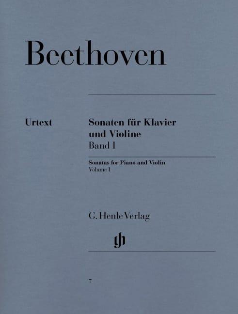Sonates pour violon, volume 1 - BEETHOVEN - laflutedepan.com