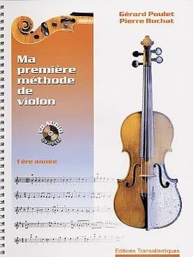 Ma première méthode de violon - 1ère année - laflutedepan.com
