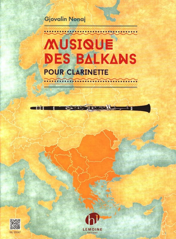 Musique des Balkans - Clarinette - Gjovalin Nonaj - laflutedepan.com