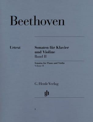 Sonates pour violon, volume 2 BEETHOVEN Partition laflutedepan