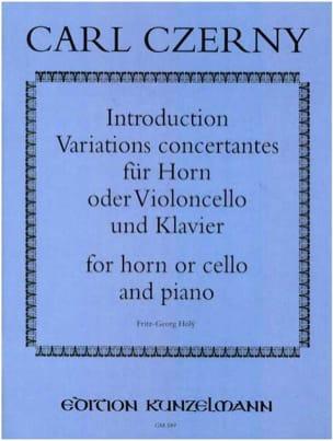 Introduction et Variations concertantes - CZERNY - laflutedepan.com