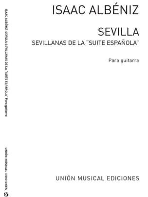 Sevilla de la Suite espanola -Guitarra ALBENIZ Partition laflutedepan