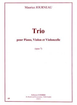 Trio op. 7 - Maurice Journeau - Partition - Trios - laflutedepan.com