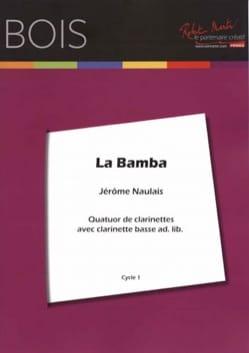 La Bamba - 4 Clarinettes Traditionnel Partition laflutedepan