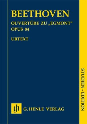 Egmont, Ouverture - Conducteur poche BEETHOVEN Partition laflutedepan