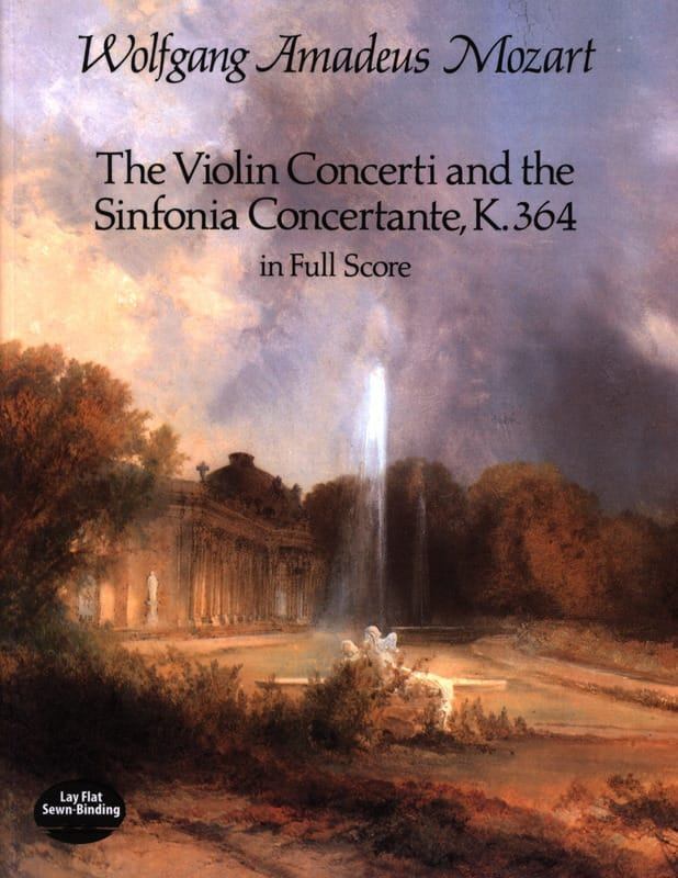 The Violin Concerti and Sinfonia Concertante K.364 - Full Score - laflutedepan.com