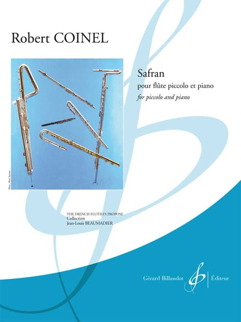 Safran - Robert Coinel - Partition - laflutedepan.com