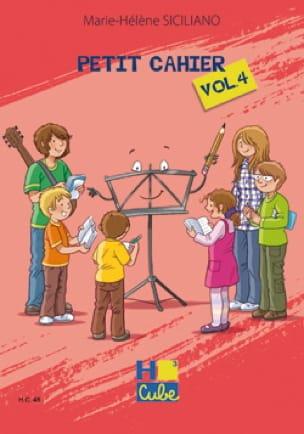 Petit Cahier de Révision Volume 4 - SICILIANO - laflutedepan.be