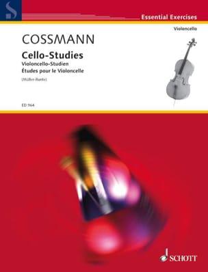 Violoncello-Studien Bernhard Cossmann Partition laflutedepan