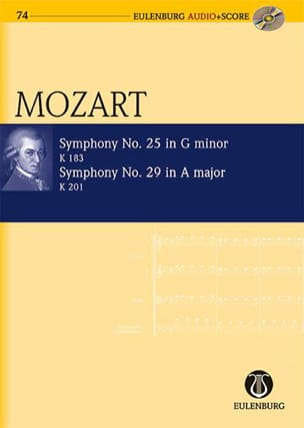 Symphonie N° 25 K.183 & Symphonie N°29 K.201 MOZART laflutedepan