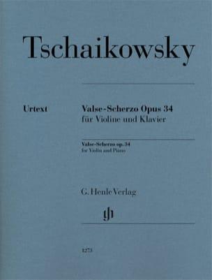 Valse-Scherzo, op. 34 - Violon et piano TCHAIKOVSKY laflutedepan