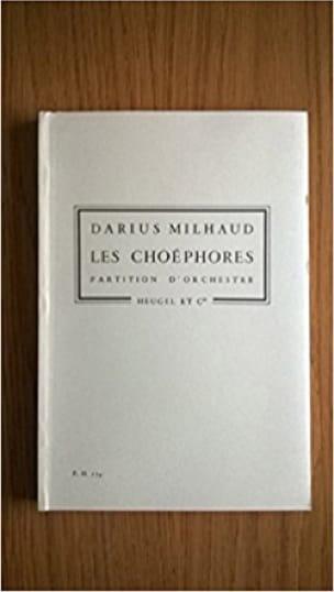Les Choéphores - Conducteur poche - MILHAUD - laflutedepan.com