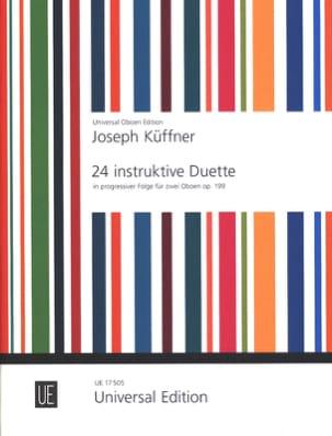 24 instruktive Duette op. 199 - 2 Oboen - laflutedepan.com
