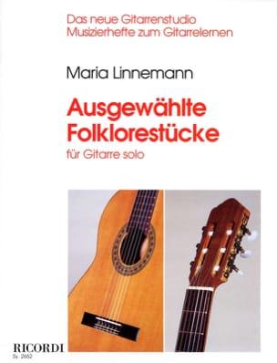 Ausgewählte Folklorestücke Maria Linnemann Partition laflutedepan
