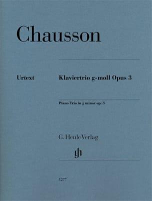 Trio en sol mineur, opus 3 - Violon, violoncelle et piano laflutedepan