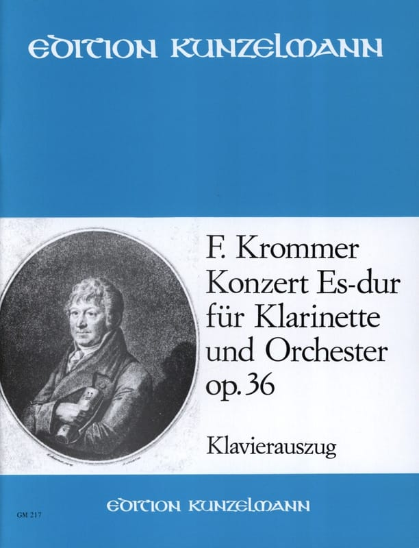 Concerto Op. 36 en Mib Majeur - KROMMER - Partition - laflutedepan.com