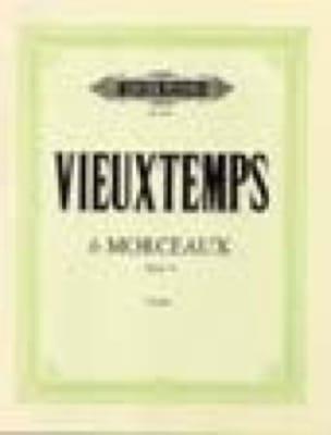 6 Morceaux op. 55 - VIEUXTEMPS - Partition - Violon - laflutedepan.com