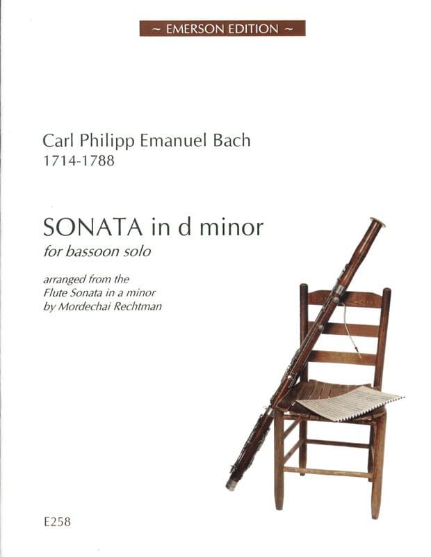 Sonata in d minor -Bassoon solo - laflutedepan.com
