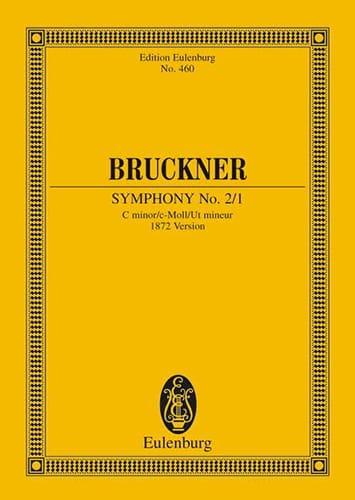 Symphonie N°2/1 en Ut Mineur - BRUCKNER - Partition - laflutedepan.com