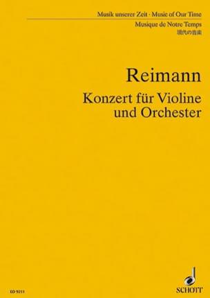 Konzert für Violine und Orch. - Partitur Aribert Reimann laflutedepan
